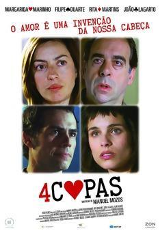 4 Copas - Poster